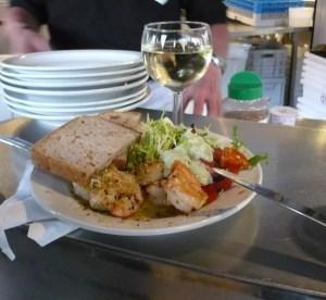 Noordzee Mer du Nord a Bruxelles, cibo ottimo