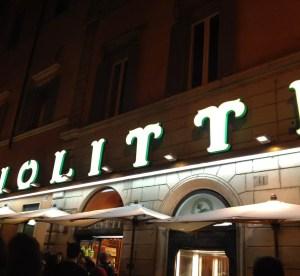 Giolitti, dove mangiare il gelato a Roma