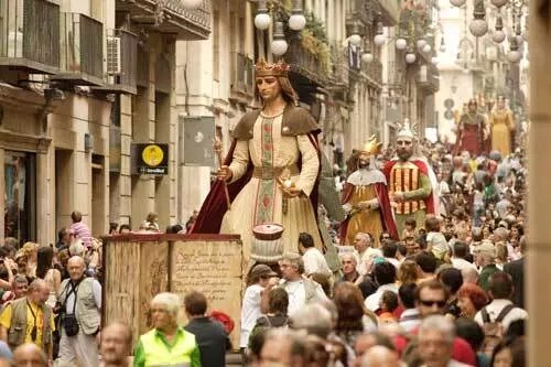 Festes de la Mercè a Barcellona