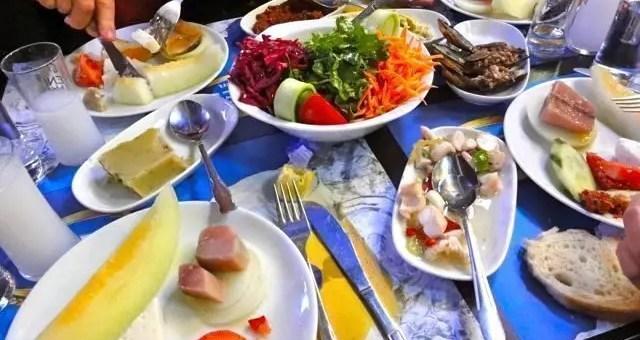 Meze, dove mangiare locale a Istanbul