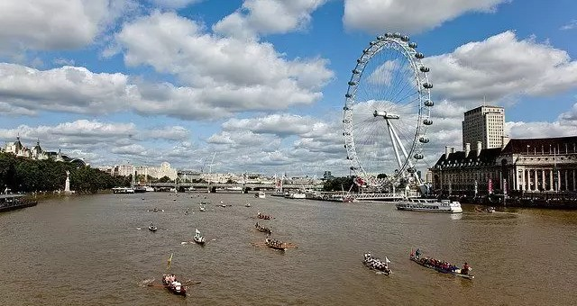 The great river race il 15 settembre a Londra