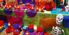 Halloween a Barcellona, gli altari dell'associazione culturale Messico – Catalunya