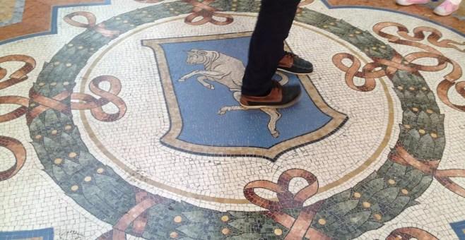 Il toro di Milano di Galleria Vittorio Emanuele II