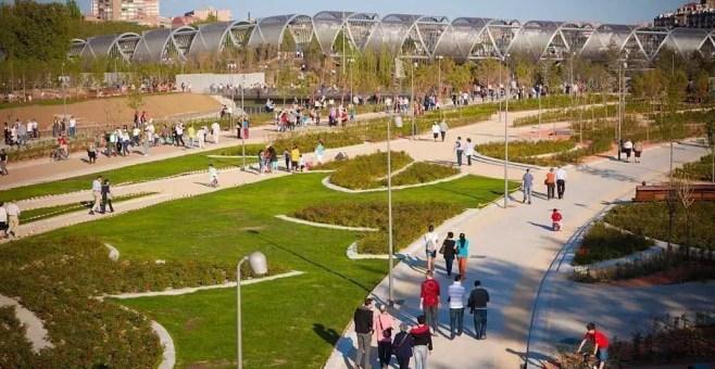 Madrid Rio: un nuovo parco urbano per Madrid