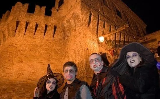 Festa di Halloween a Corinaldo, la capitale italiana di Halloween