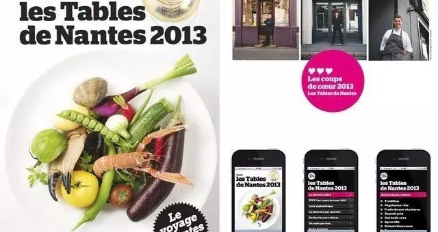 Tables de Nantes 2013, un'app per golosi in Francia
