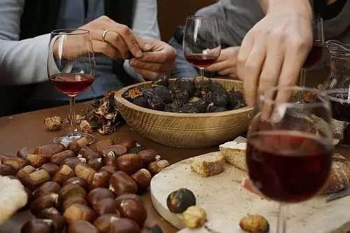 Umbria e San Martino in Cantina: vino novello e caldarroste