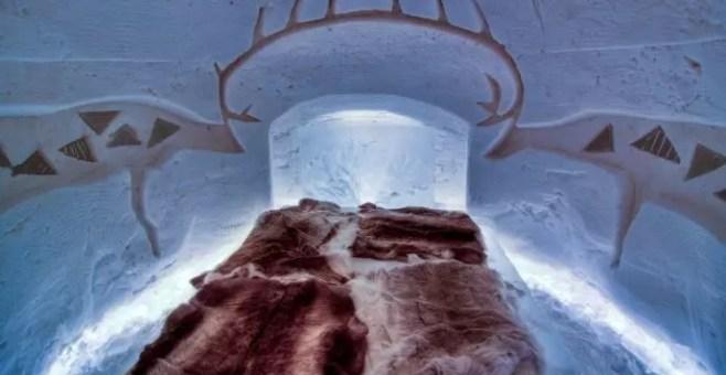 Arctic Snow Hotel a Rovaniemi, in Lapponia