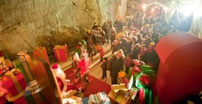 La vera grotta di Babbo Natale a Verbania