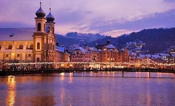 Mercatini di Natale di Lucerna, in Svizzera