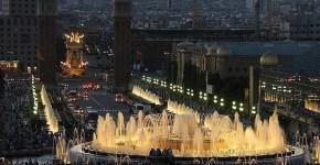 Natale di Barcellona: Torre Agbar e Fuente Magica, orari e colori