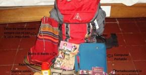 La valigia di Chiara, siciliana e appassionata di viaggio