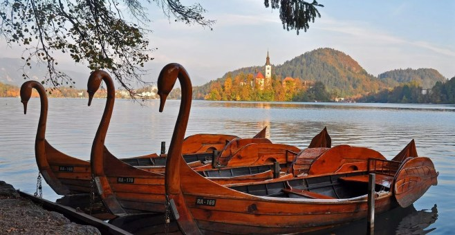 Sul Lago di Bled in Slovenia per un weekend romantico