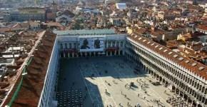 Procuratie di Piazza San Marco a Venezia, dove passeggiare