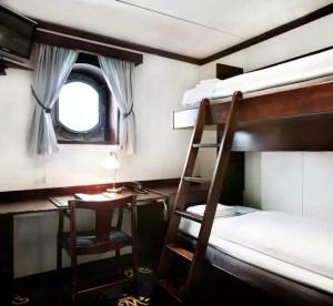 Mälardrottningen Hotel, dormire in barca a Stoccolma