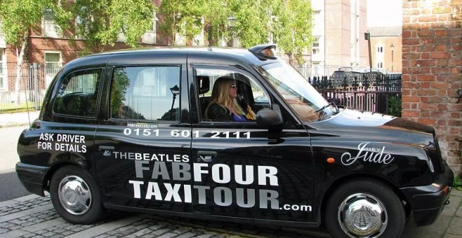 Beatles Tour a Liverpool in taxi: Fab Four Taxi Tour