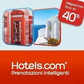 Con Hotels.com dormi con il 40% di sconto