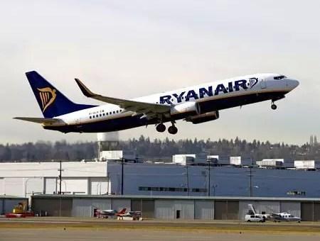 Voli Ryanair a 16€ fino a giovedì