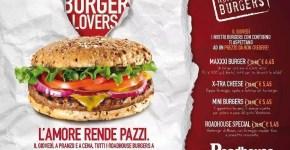 Hamburger a metà prezzo a Roma il giovedì: RoadHouse
