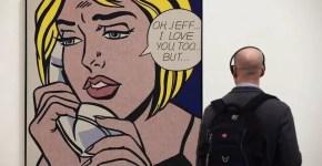 Roy Lichtenstein in mostra alla Tate di Londra