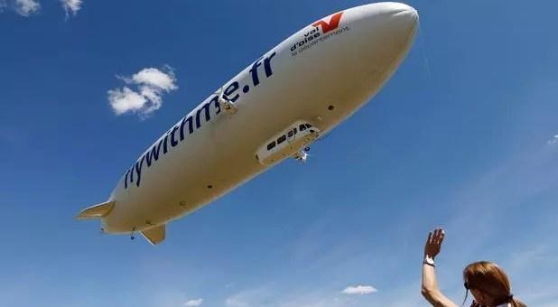 In dirigibile sopra Parigi, ecco il tour