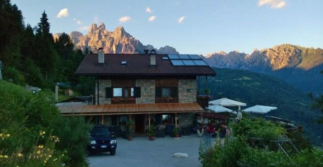 Soggiornare a Baita Zeni Tirolerhof, a Pezze Altre in Trentino