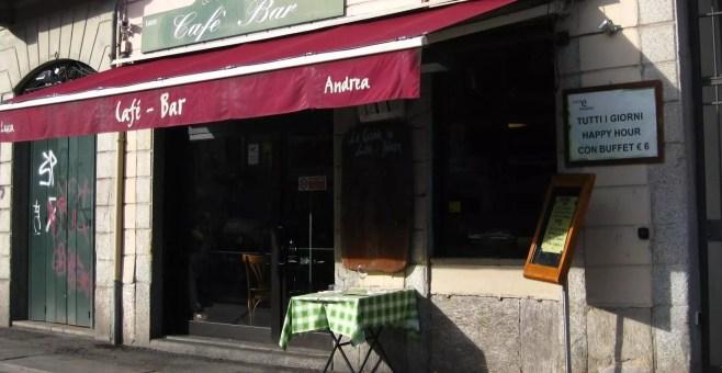 Un cocktail in riva al Naviglio da Luca e Andrea