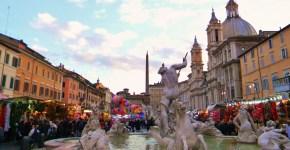 Mercatini di Natale a Piazza Navona a Roma
