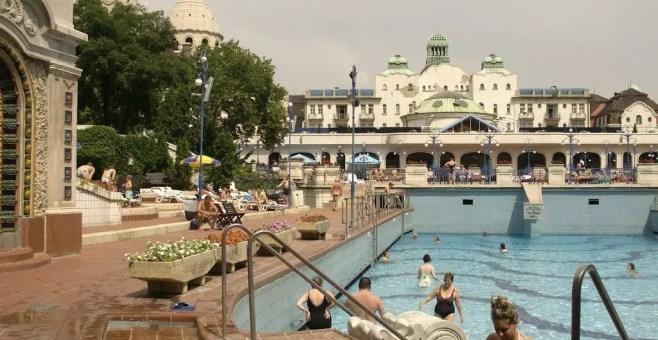 Bagni Termali Gellert : Budapest terme: bagni gellert