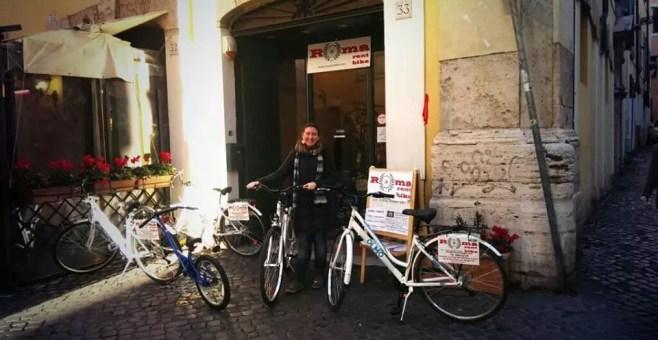 Roma rent bike, noleggio bici e tour a Roma