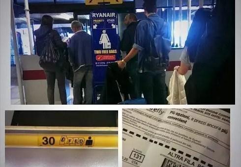Ryanair, posti assegnati su tutti i voli