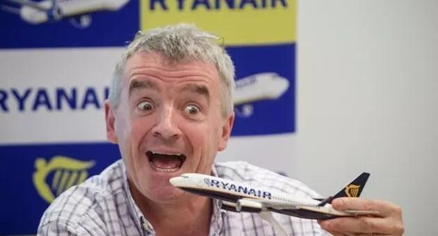 Ryanair, voli a 10$ per l'America