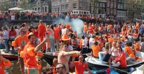 La prima Festa del Re ad Amsterdam