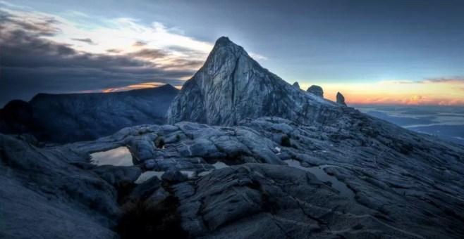 Monte Kinabalu, in Malesia fino ai 4095 metri