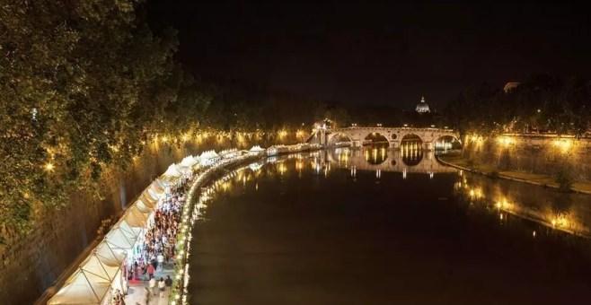 Roma, i mercatini del Lungo Tevere 2014