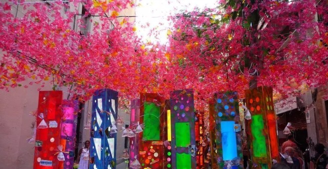 Festa Major de Gracia a Barcellona