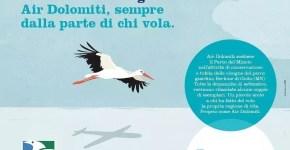 """Air Dolomiti e il Parco del Mincio """"Sempre dalla parte di chi vola"""""""