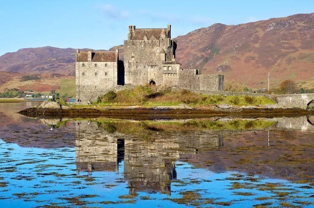 scozia-eilean donan castle