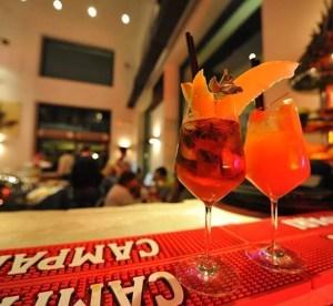 L'aperitivo al Momart di Roma