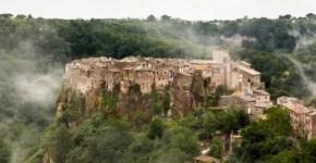 Calcata cosa vedere nel Lazio, borgo da scoprire
