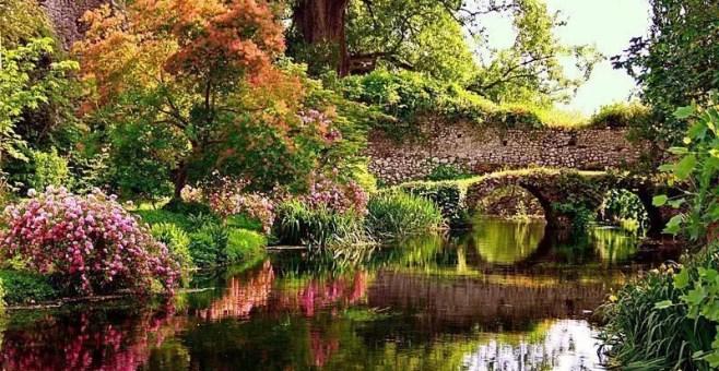 I giardini di Ninfa a Latina, come vederli