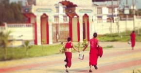 Bylakuppe: la città dei monaci tibetani in India