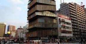 Kengo Kuma a Tokyo, l'architettura in Giappone