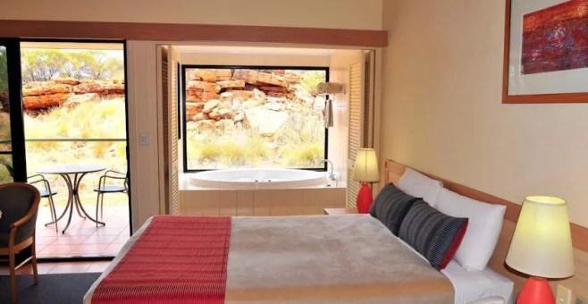Australia, dormire nell'Outback: Kings Canyon Resort