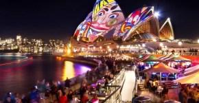 Vivid, il Festival delle luci a Sydney
