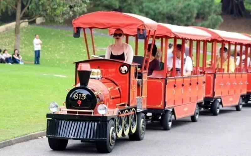 sydney Botanic Gardens Choo Choo train