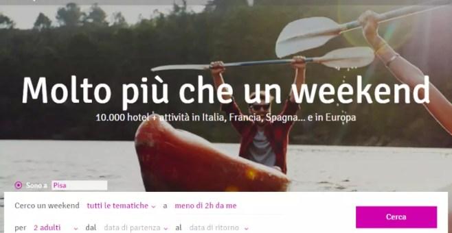 Weekendesk, soggiorno low cost in Italia e in Europa