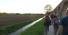 Via degli Acquedotti, trekking fra Lucca e Pisa