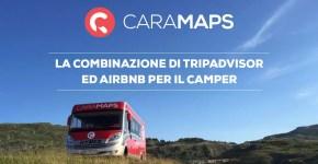 CaraMaps, l'app per Viaggiare con il Camper