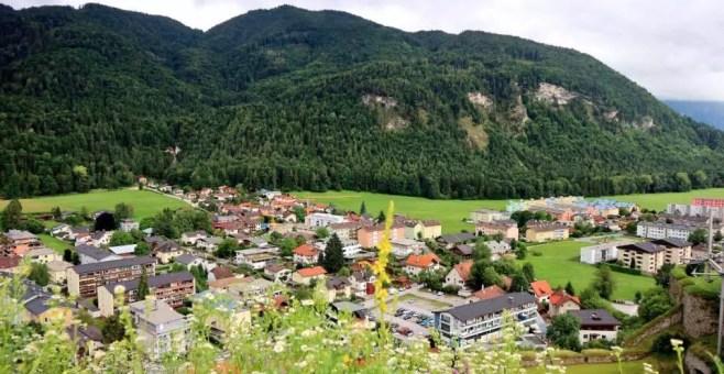 Kufstein in Tirolo, viaggio low cost e nella natura